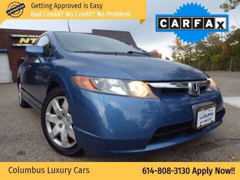 2007 Honda Civic for sale at Columbus Luxury Cars in Columbus OH