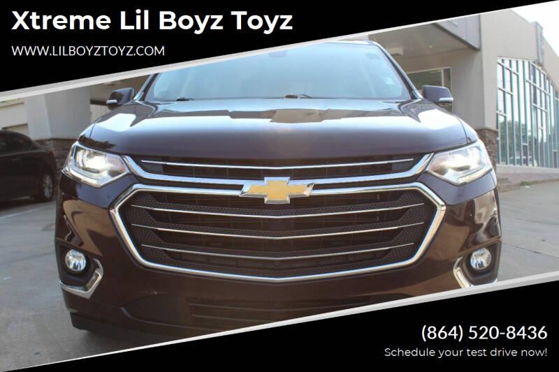 2018 Chevrolet Traverse for sale at Xtreme Lil Boyz Toyz in Greenville SC