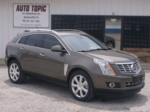 2015 Cadillac SRX for sale at AUTO TOPIC in Gainesville TX
