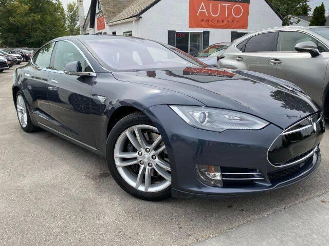 2015 Tesla Model S for sale at Discount Auto Brokers Inc. in Lehi UT