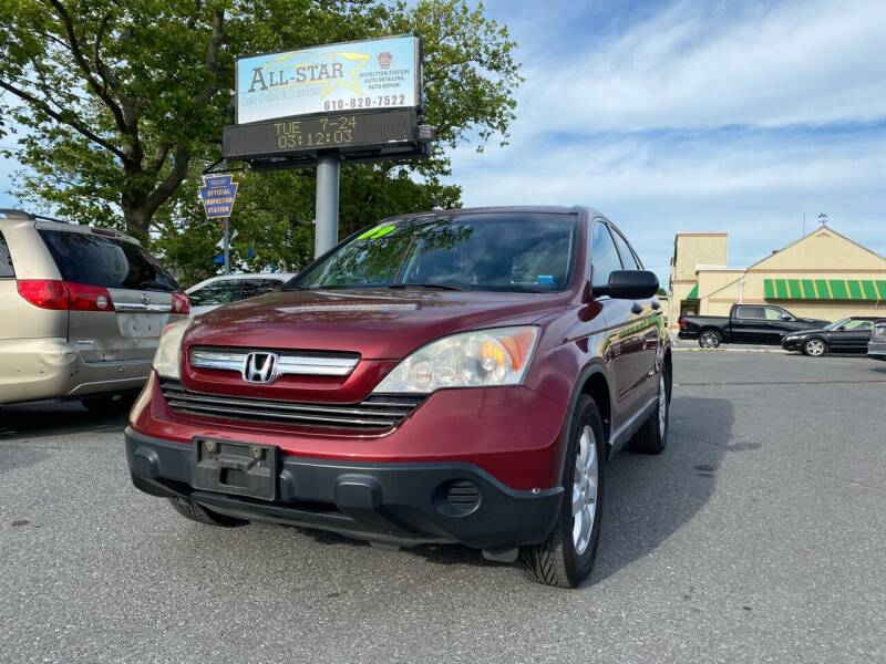 2009 Honda CR-V for sale at All Star Auto Sales and Service LLC in Allentown PA