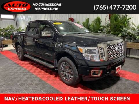 2017 Nissan Titan for sale at Auto Express in Lafayette IN