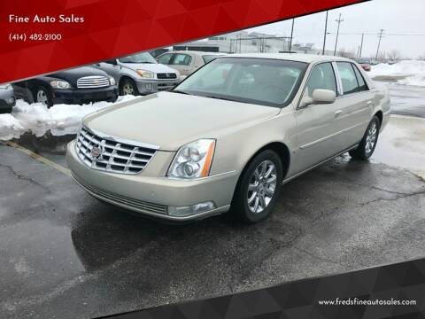 2009 Cadillac DTS for sale at Fine Auto Sales in Cudahy WI