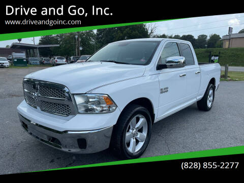 2013 RAM Ram Pickup 1500 for sale at Drive and Go, Inc. in Hickory NC