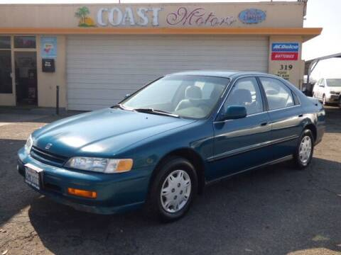 1995 Honda Accord for sale at Coast Motors in Arroyo Grande CA