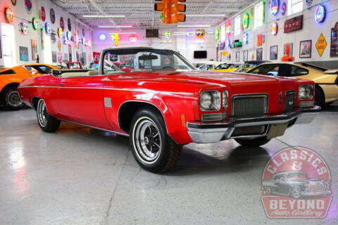 1972 Oldsmobile Delta 88 Royale Convertible for sale at Classics and Beyond Auto Gallery in Wayne MI