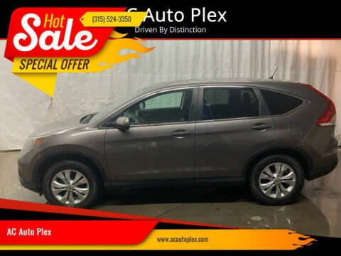 2012 Honda CR-V for sale at AC Auto Plex in Ontario NY