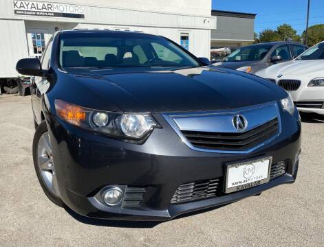 2012 Acura TSX for sale at KAYALAR MOTORS in Houston TX