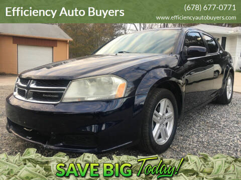 2011 Dodge Avenger for sale at Efficiency Auto Buyers in Milton GA