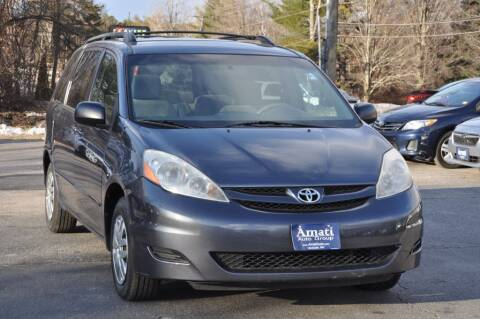 2007 Toyota Sienna for sale at Amati Auto Group in Hooksett NH