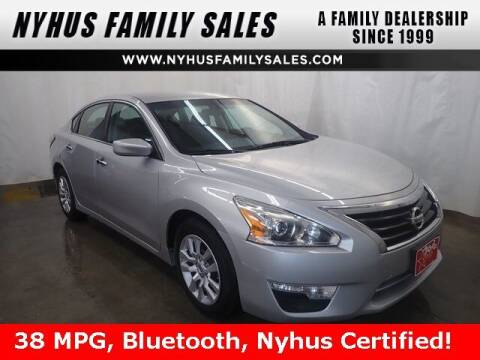 2015 Nissan Altima for sale at Nyhus Family Sales in Perham MN