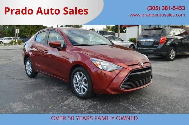 2018 Toyota Yaris iA for sale at Prado Auto Sales in Miami FL