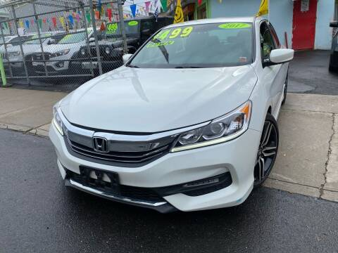 2017 Honda Accord for sale at Best Cars R Us LLC in Irvington NJ