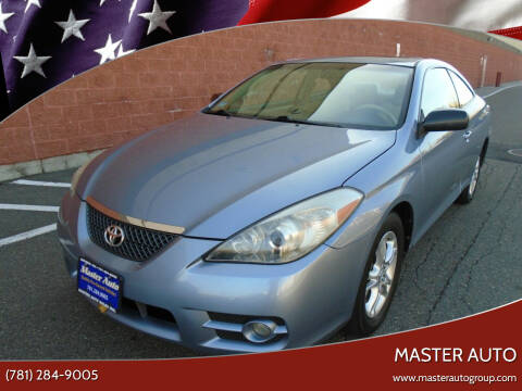 2008 Toyota Camry Solara for sale at Master Auto in Revere MA