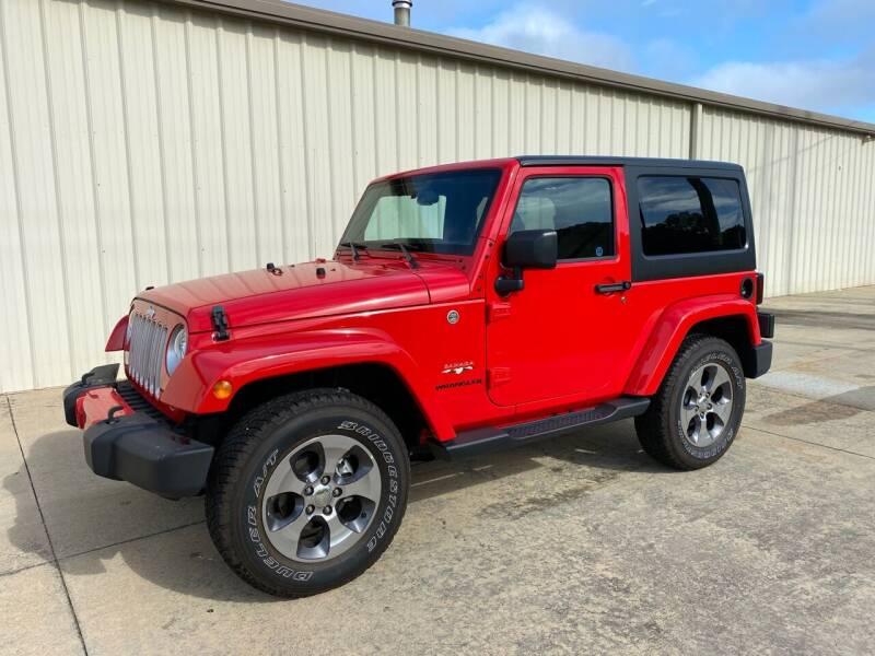 2017 Jeep Wrangler for sale at Freeman Motor Company in Lawrenceville VA