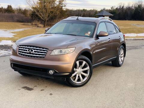 2004 Infiniti FX45 for sale at Y&H Auto Planet in West Sand Lake NY