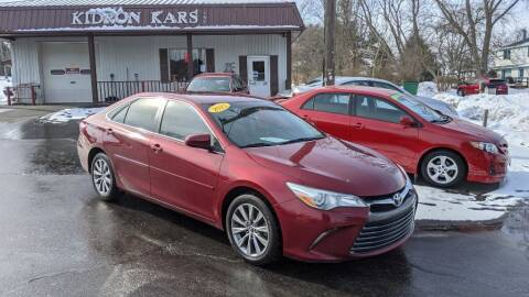 2015 Toyota Camry for sale at Kidron Kars INC in Orrville OH