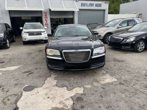 2011 Chrysler 300 for sale at America Auto Wholesale Inc in Miami FL