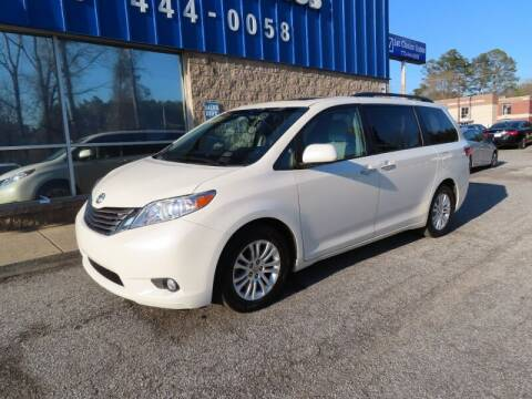2016 Toyota Sienna for sale at Southern Auto Solutions - 1st Choice Autos in Marietta GA
