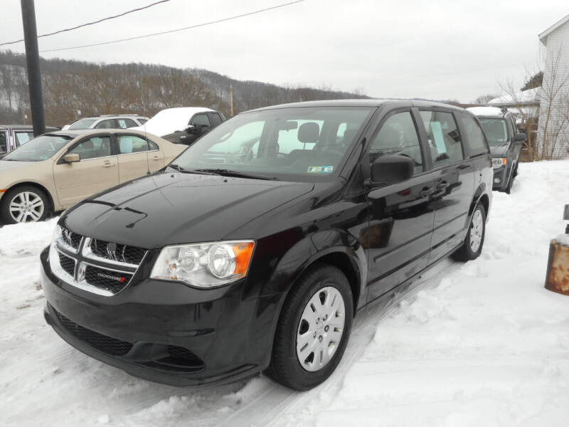 2014 Dodge Grand Caravan for sale at Sleepy Hollow Motors in New Eagle PA