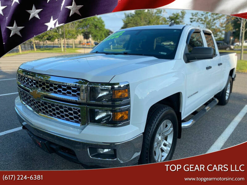 2014 Chevrolet Silverado 1500 for sale at Top Gear Cars LLC in Lynn MA