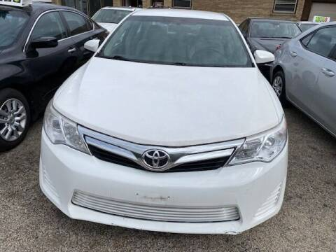 2014 Toyota Camry for sale at NORTH CHICAGO MOTORS INC in North Chicago IL