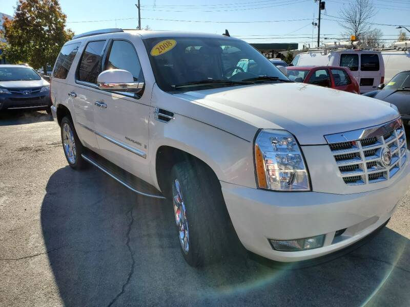 2008 Cadillac Escalade for sale at Mass Auto Exchange in Framingham MA