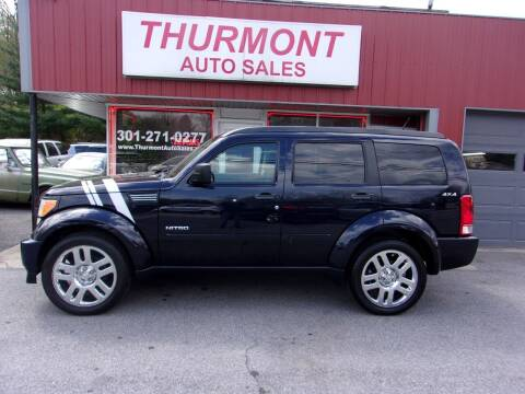 2011 Dodge Nitro for sale at THURMONT AUTO SALES in Thurmont MD