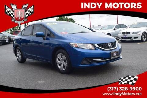 2015 Honda Civic for sale at Indy Motors Inc in Indianapolis IN