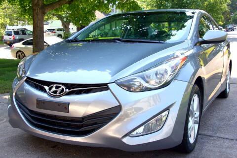 2013 Hyundai Elantra Coupe for sale at Prime Auto Sales LLC in Virginia Beach VA