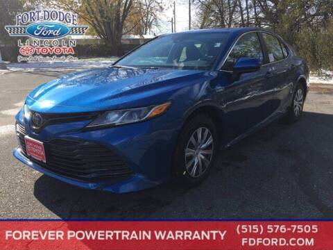 2020 Toyota Camry Hybrid for sale at Fort Dodge Ford Lincoln Toyota in Fort Dodge IA
