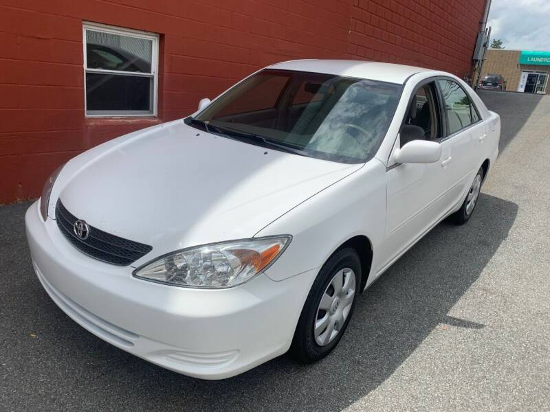 2003 Toyota Camry for sale at J & T Auto Sales in Warwick RI