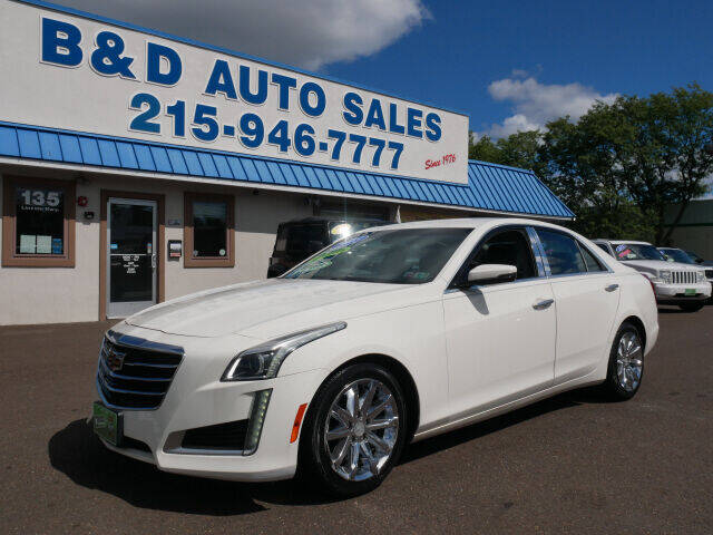 2015 Cadillac CTS for sale at B & D Auto Sales Inc. in Fairless Hills PA