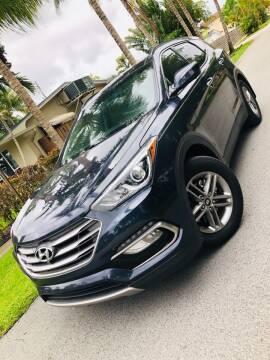 2017 Hyundai Santa Fe Sport for sale at IRON CARS in Hollywood FL