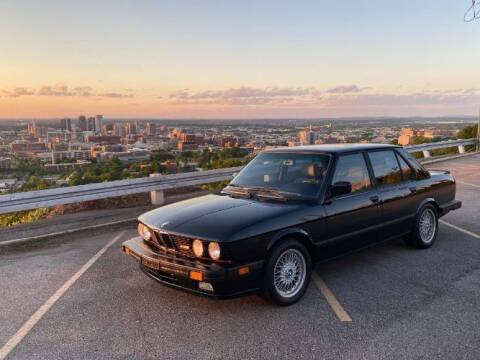 1988 BMW E28 for sale at Classic Car Deals in Cadillac MI
