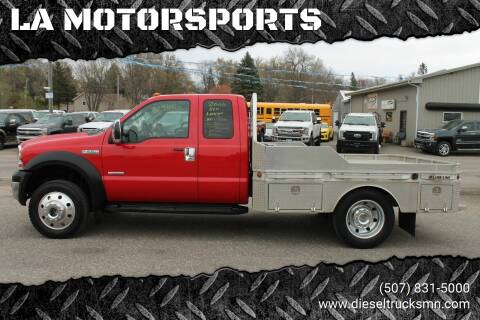 2006 Ford F-550 Super Duty for sale at LA MOTORSPORTS in Windom MN