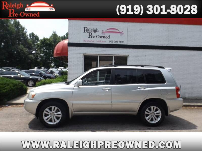 2006 Toyota Highlander Hybrid for sale at Raleigh Pre-Owned in Raleigh NC