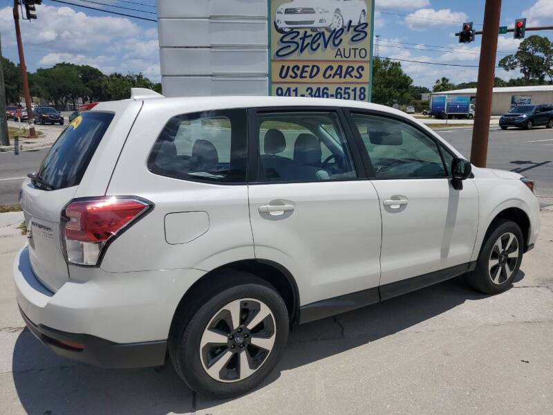 2017 Subaru Forester for sale at Steve's Auto Sales in Sarasota FL