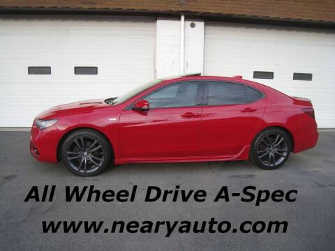 2018 Acura TLX for sale at Neary's Auto Sales & Svc Inc in Scranton PA