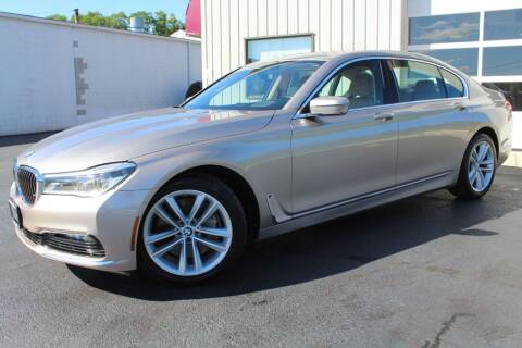 2016 BMW 7 Series for sale at Platinum Motors LLC in Reynoldsburg OH