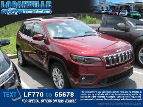 2019 Jeep Cherokee for sale at Loganville Quick Lane and Tire Center in Loganville GA