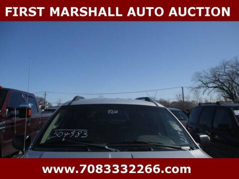 2003 Jeep Grand Cherokee for sale at First Marshall Auto Auction in Harvey IL