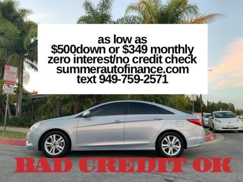 2011 Hyundai Sonata for sale at SUMMER AUTO FINANCE in Costa Mesa CA