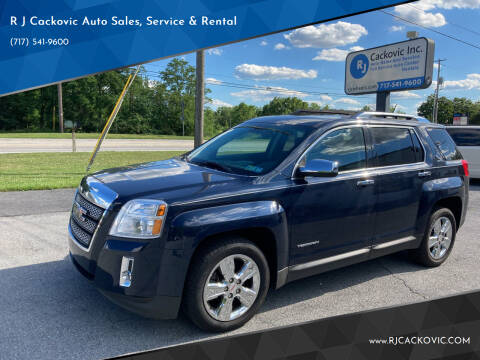 2015 GMC Terrain for sale at R J Cackovic Auto Sales, Service & Rental in Harrisburg PA