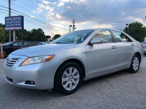 2009 Toyota Camry for sale at Capital Motors in Raleigh NC