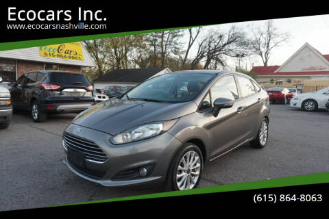 2014 Ford Fiesta for sale at Ecocars Inc. in Nashville TN