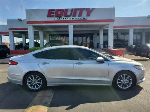 2017 Ford Fusion Hybrid for sale at EQUITY AUTO CENTER in Phoenix AZ