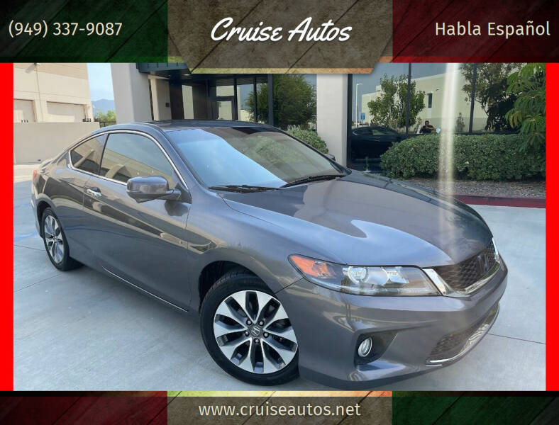 2015 Honda Accord for sale at Cruise Autos in Corona CA