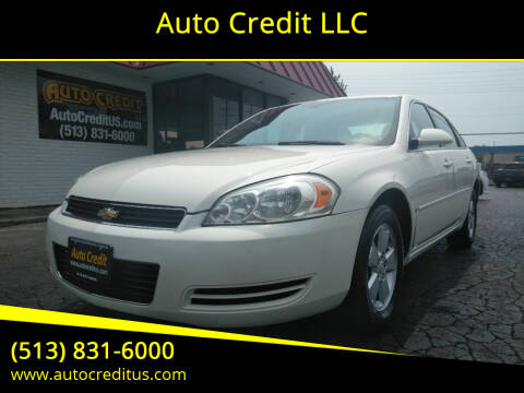 2006 Chevrolet Impala for sale at Auto Credit LLC in Milford OH