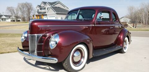 1940 Ford Super Deluxe for sale at Midwest Classic Car in Belle Plaine MN